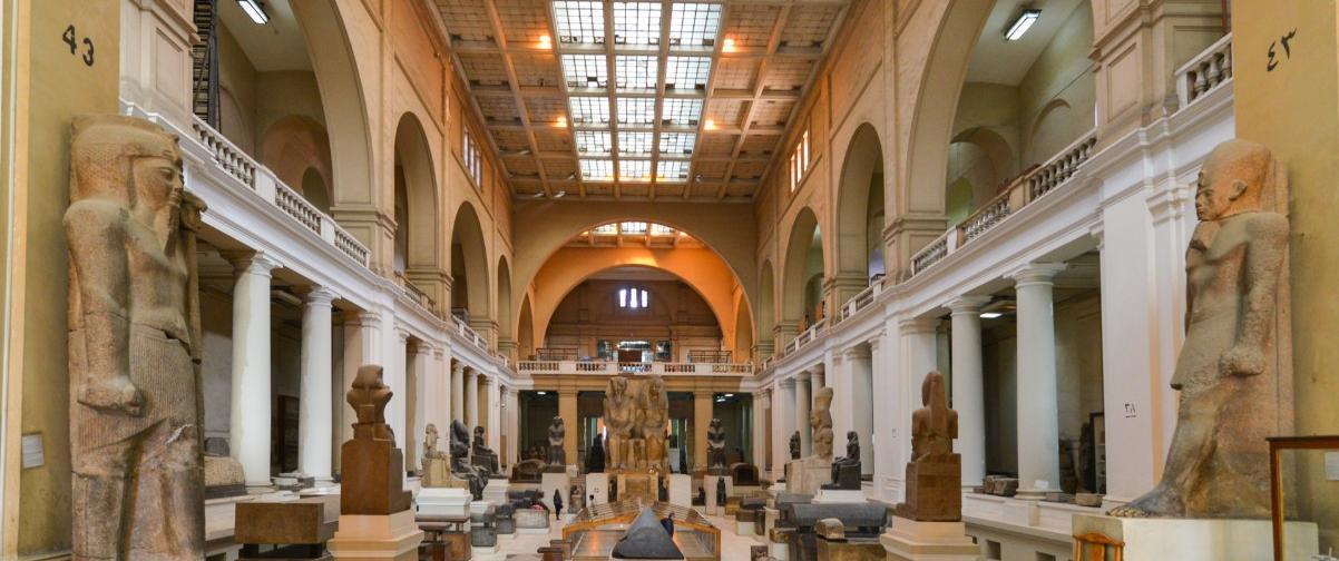 Guía El Cairo, Museo Egipcio