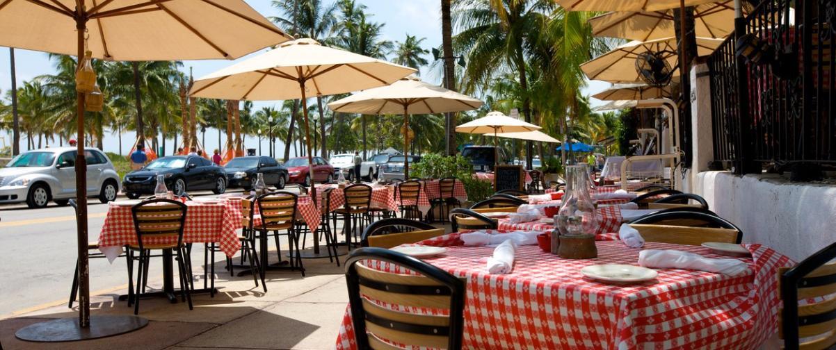Guía Miami, Ocean Avenue Restaurant