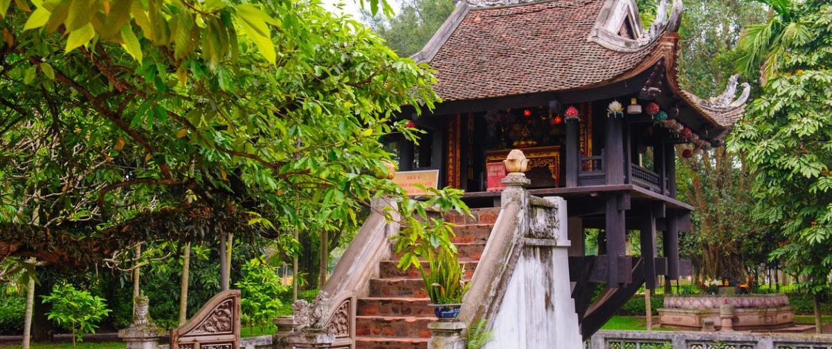 Guía Hanoi, Pagoda de pilar único