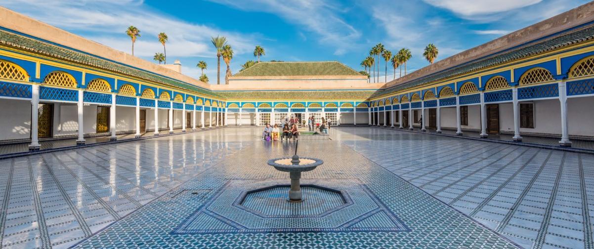 Guía Marrakech, Palacio Bahía