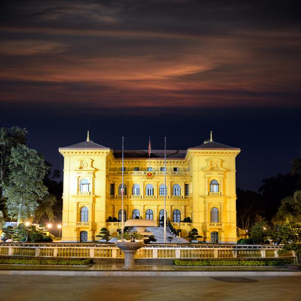 Guía Hanoi, Palacio presidencial Ho-Chi-Minh