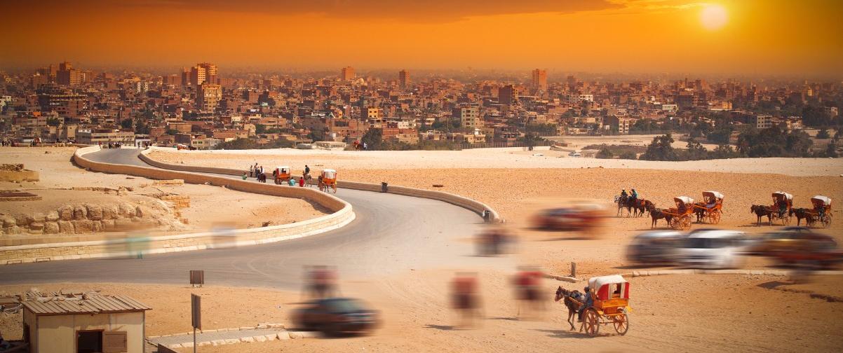 Guía El Cairo, Panorámica
