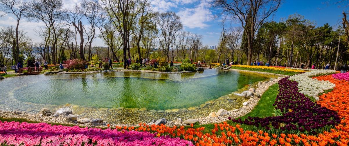 Parque tulipanes, Guía Estambul