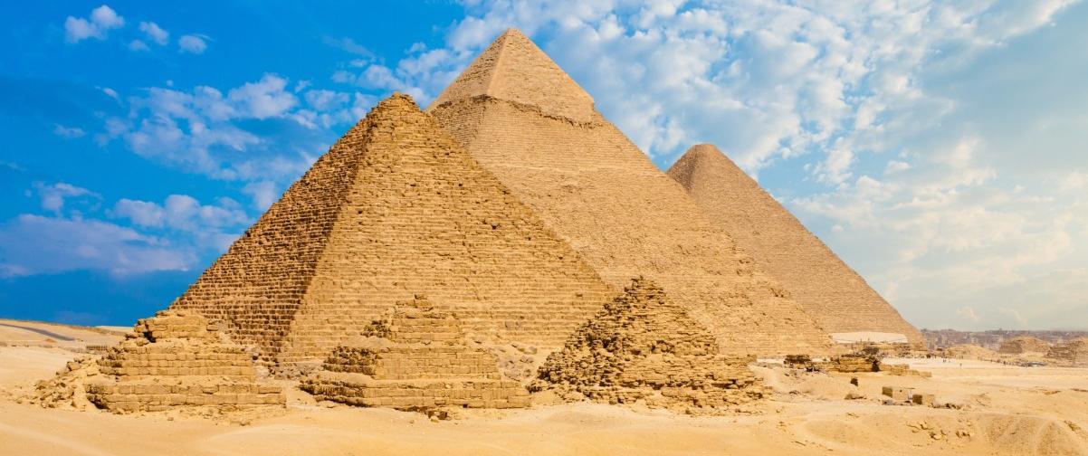 Guía El Cairo, Pirámides