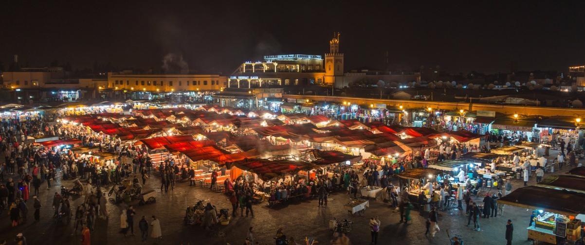 Guía Marrakech, Plaza Jamaa-El-Fna