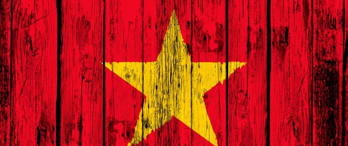 Guía Hanoi, Bandera Vietnam