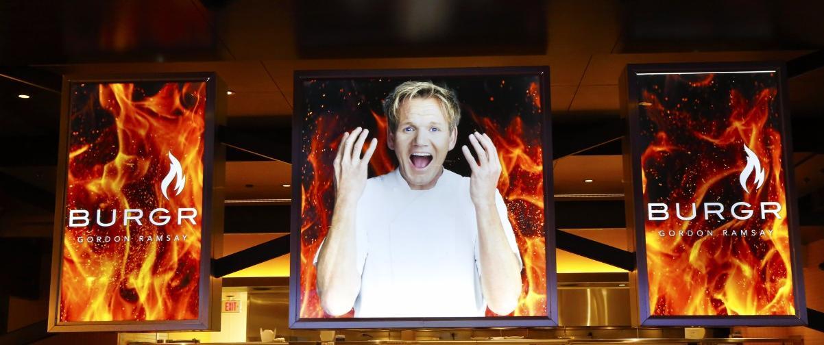 Guía Las Vegas, Restaurante Gordon Ramsay