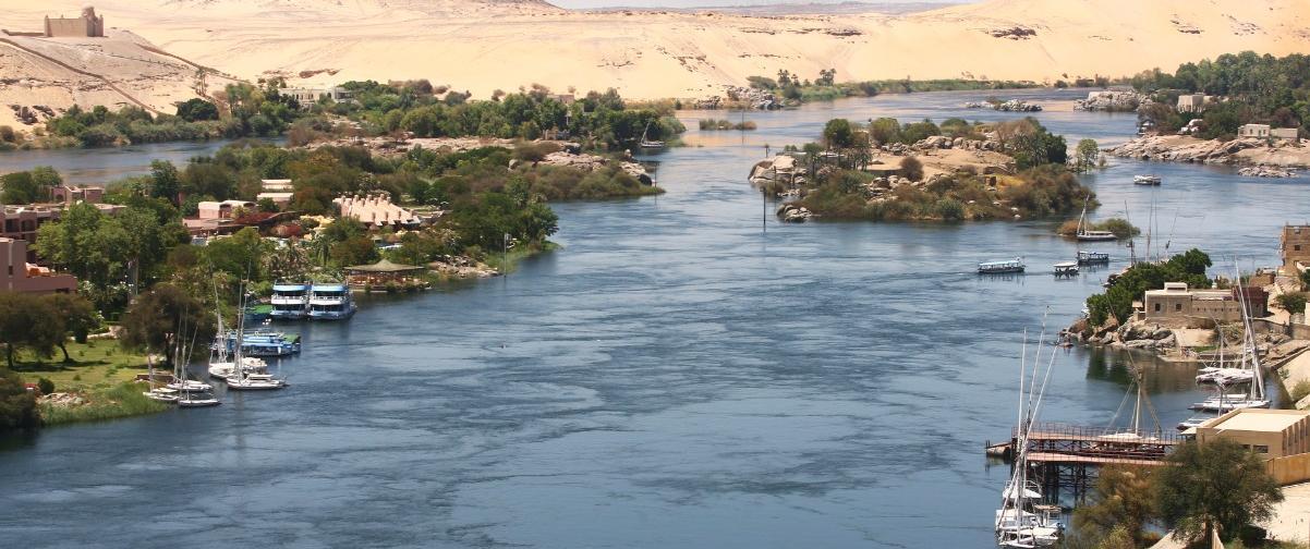 Guía El Cairo, Río Nilo