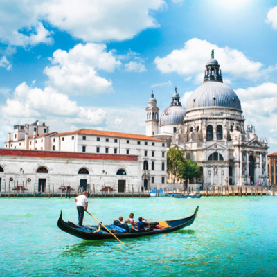 Guía Venecia, Santa María della salute