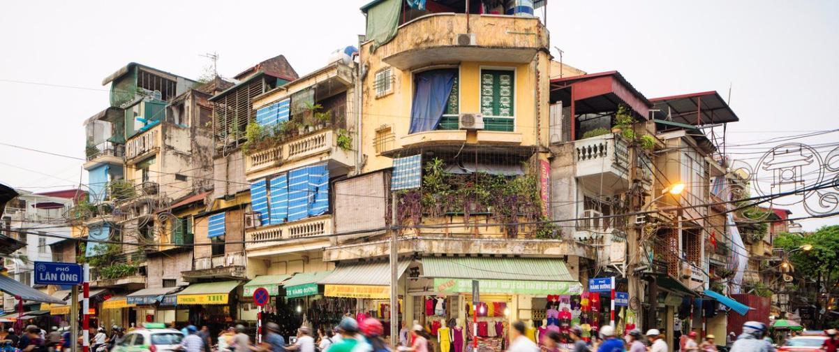 Guía Hanoi, Calle comercial Hanoi
