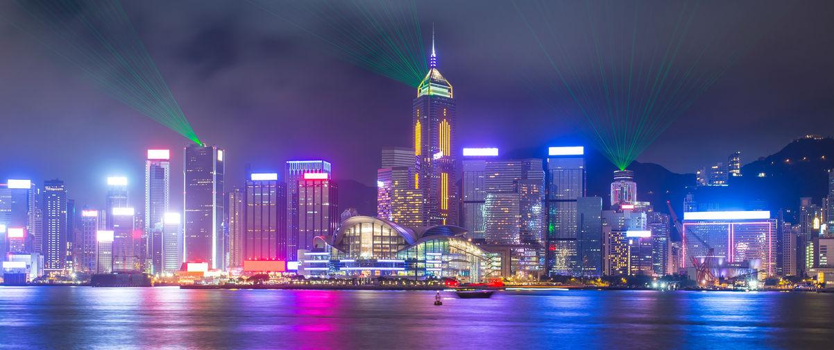 Guía Hong Kong, Sinfonía de luces