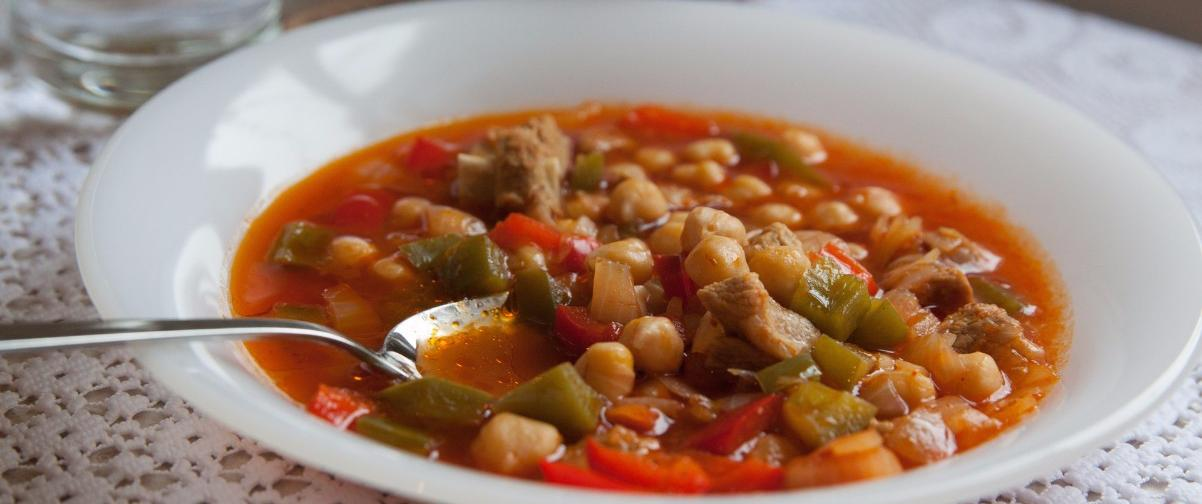 Sopa garbanzos, Guía Estambul