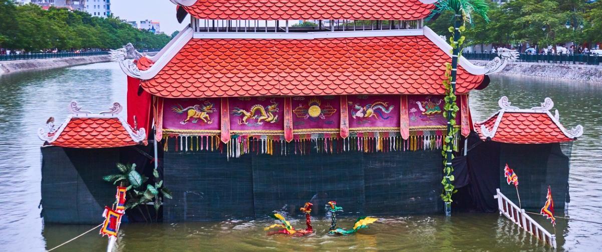 Guía Hanoi, Teatro marionetas de agua