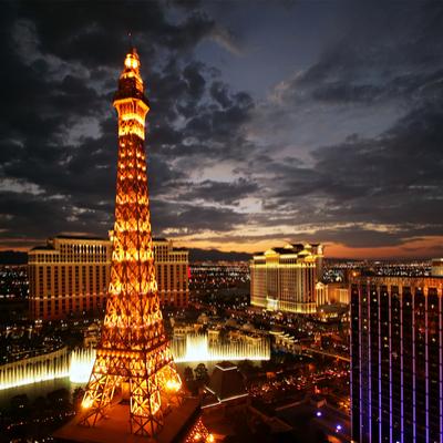 Torre Eiffel, Guía Las Vegas