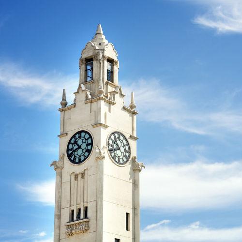 Guía Montreal, Torre del reloj