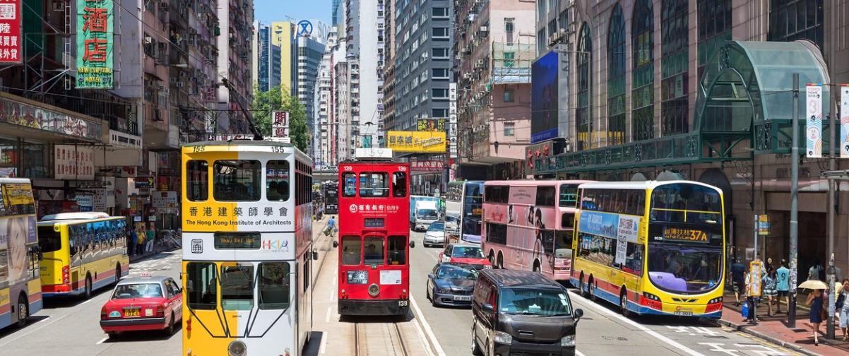 Guía Hong Kong, Tranvía