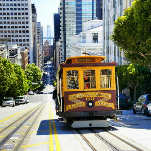 Guia San Francisco, Tranvía
