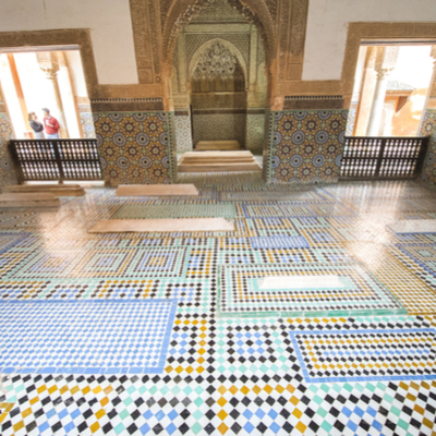 Guía Marrakech, Tumbas saadíes