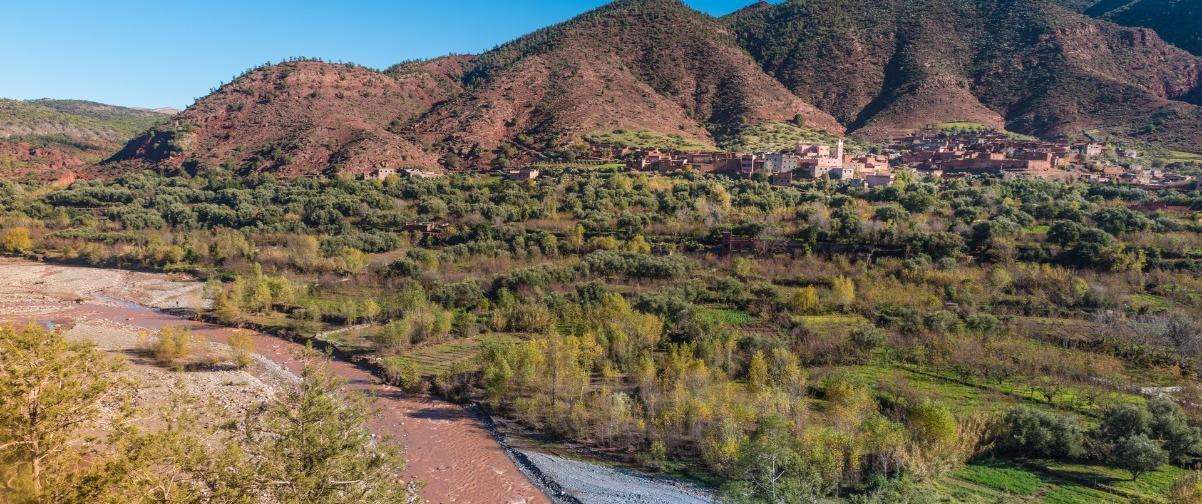 Guía Marrakech, Valle de Ourika