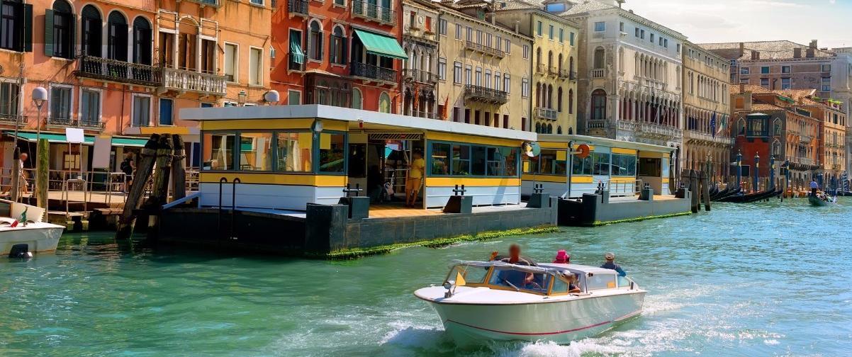 Guía Venecia, Vaporetto
