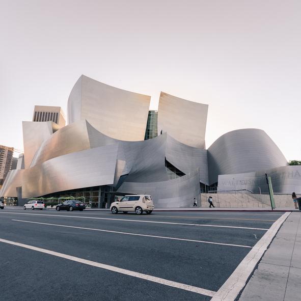 Guía Los Ángeles. Walt Disney Concert Hall