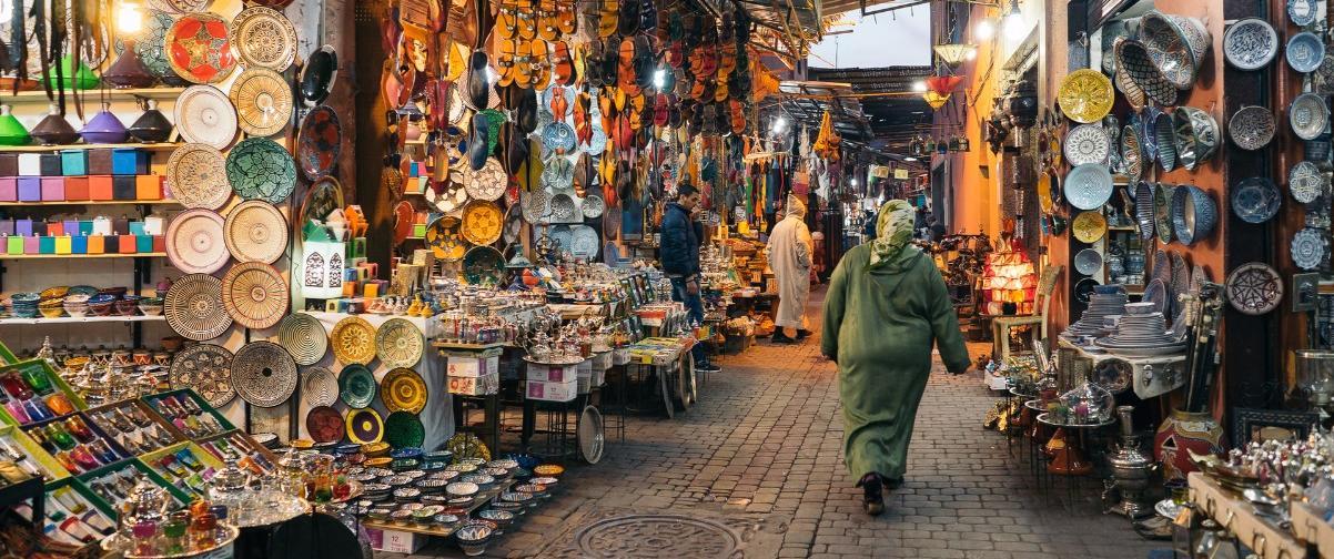 Guía Marrakech, Zoco