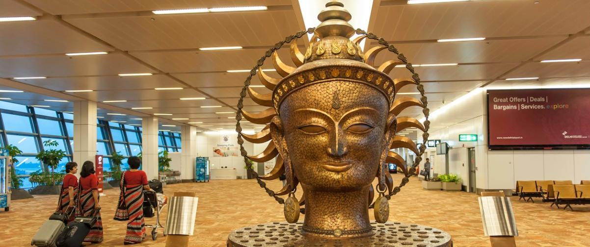 Guía Nueva Delhi, Aeropuerto Indira Gandhi