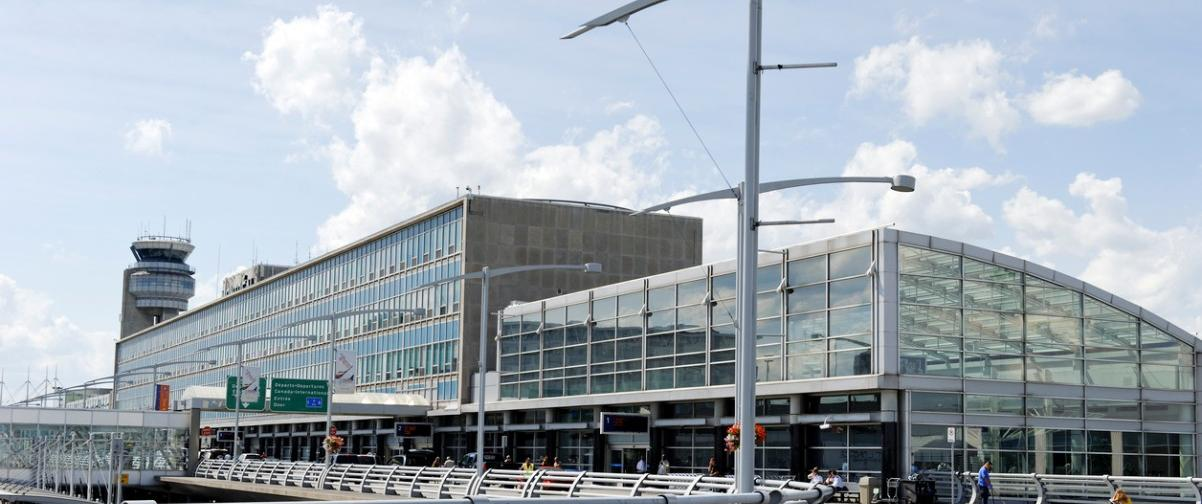 Guía Montreal, Aeropuerto Trudeau