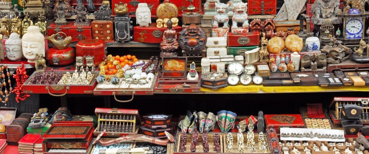 Guía Shanghai, Dongtai Lu Market