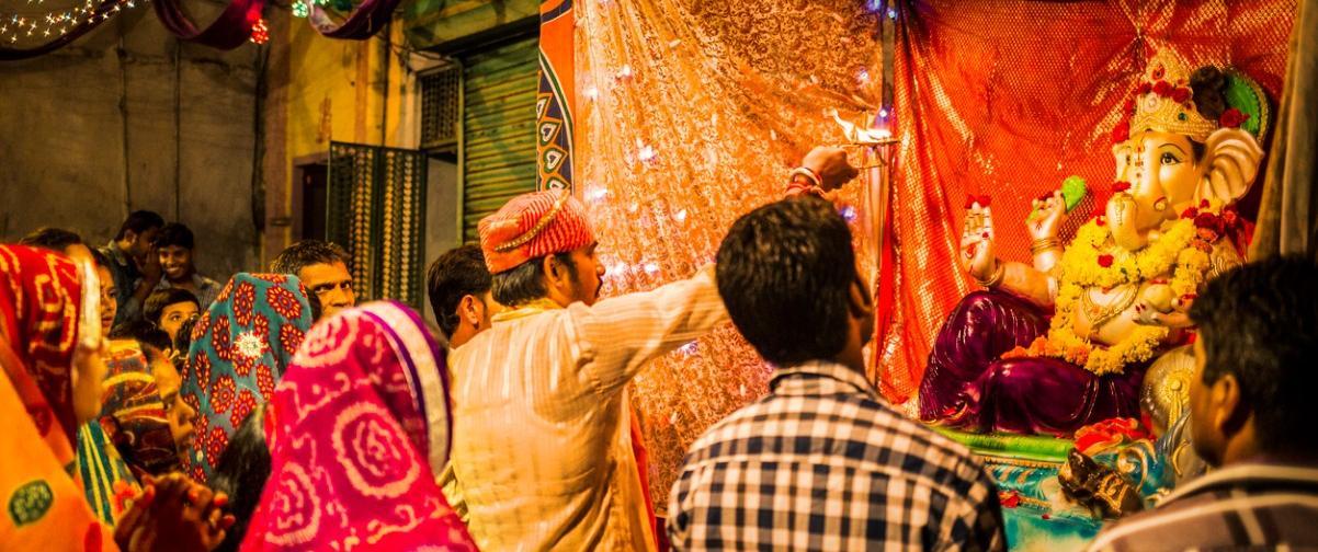Guía Nueva Delhi, Ganesh Chaturthi