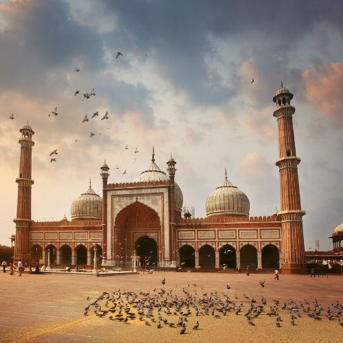 Guía Nueva Delhi, Jama Masjid