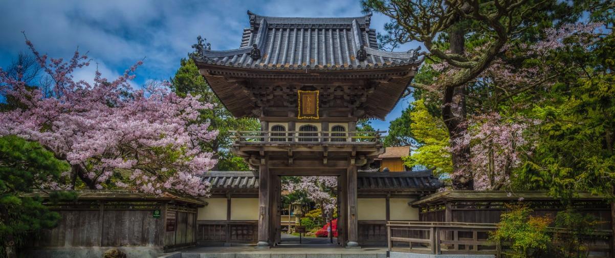 Guía San Francisco, Jardín japonés de té