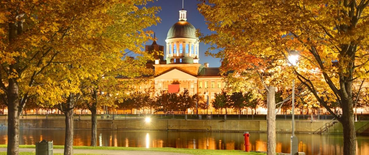 Guía Montreal, Lago en otoño