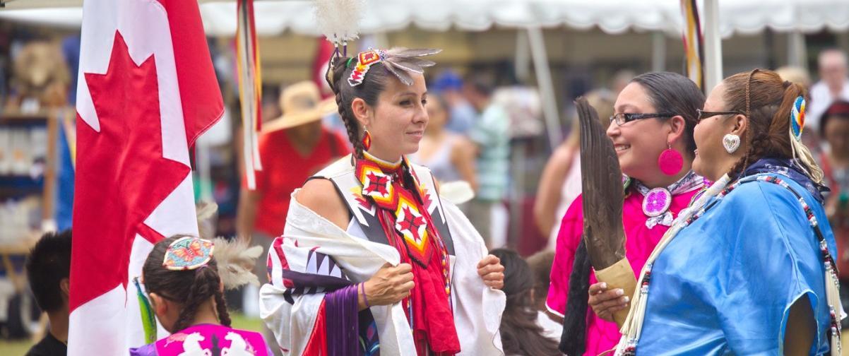 Guía Montreal, Nativos americanos - Baile Pow Pow