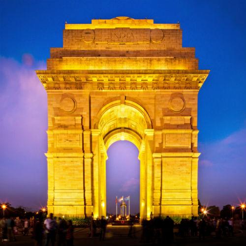 Guía Nueva Delhi, Puerta de la India