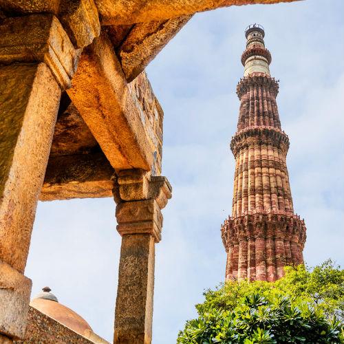 Guía Nueva Delhi, Qutub Minar Tower