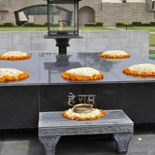 Guía Nueva Delhi, Raj Ghat Memorial