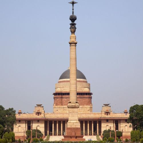 Guía Nueva Delhi, Rashtrapati Bhavan