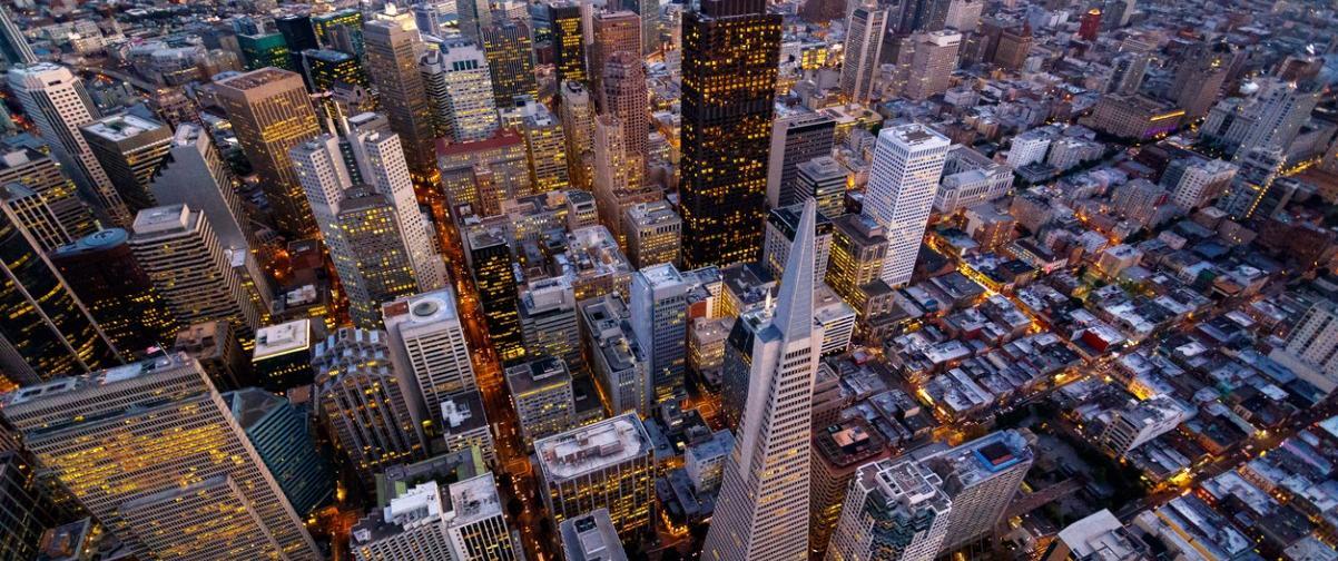 Guía San Francisco, Vista Aérea