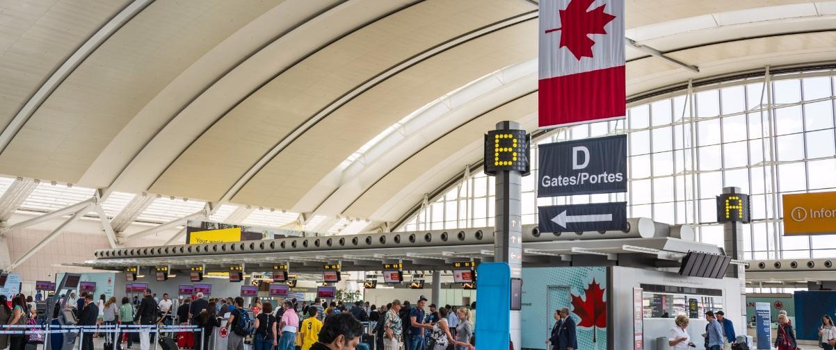Guía Toronto, Pearson Airport