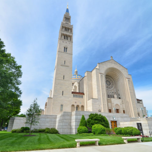Guía Washington, Basílica de la Inmaculada Concepción