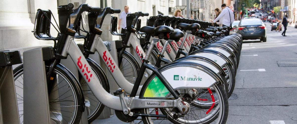 Guía Montreal, Bicicletas Bixi