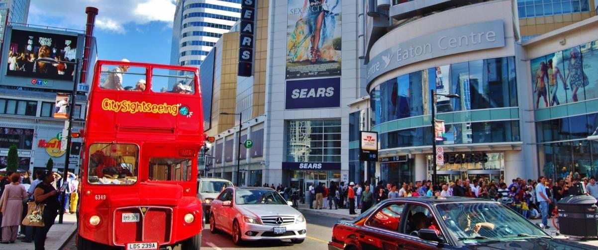 Guía Toronto, Bus turístico