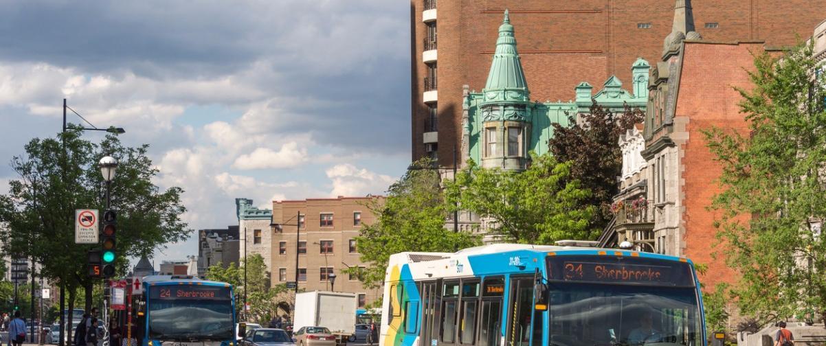 Guía Montreal, Calle de Sherbrooke