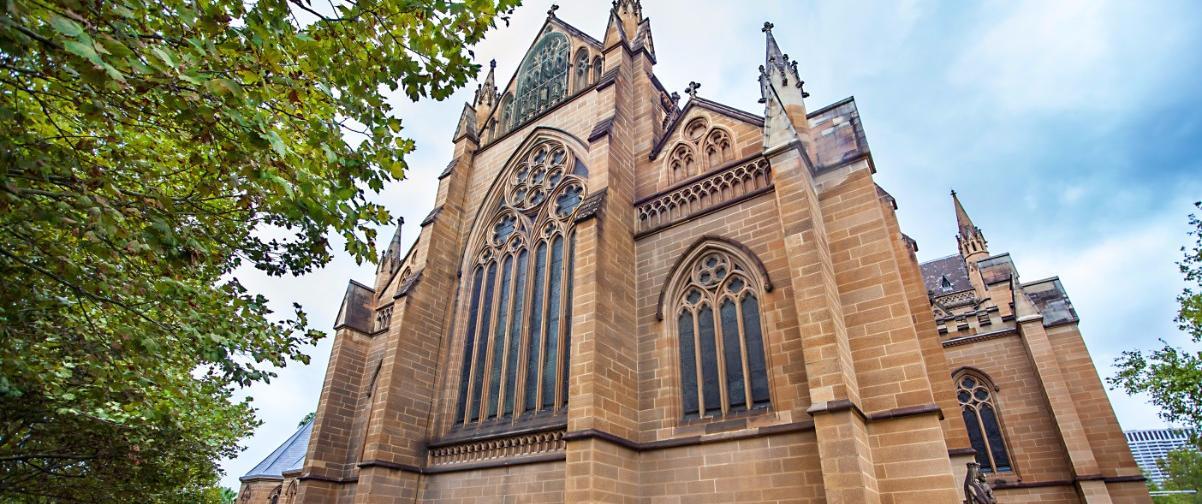Guía Sídney, Catedral Santa María