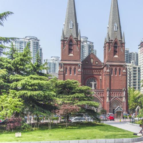 Guía Shanghai, Catedral Xujiahui