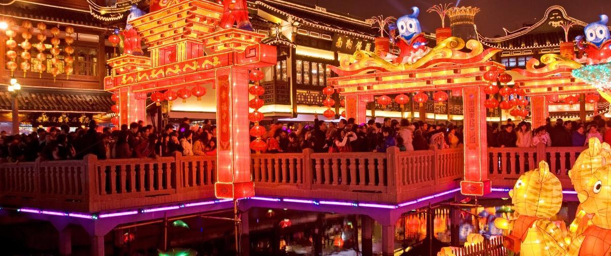 Guía Shanghai, Año Nuevo Chino
