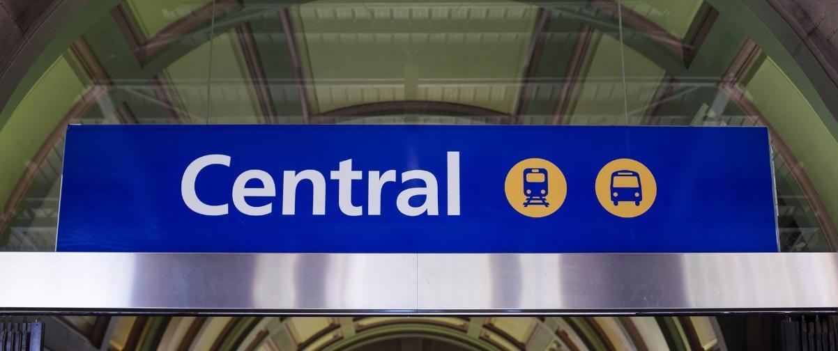 Guía Sídney, Central Station