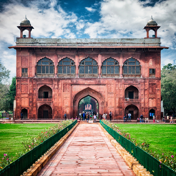 Guía Nueva Delhi, Fuerte Rojo
