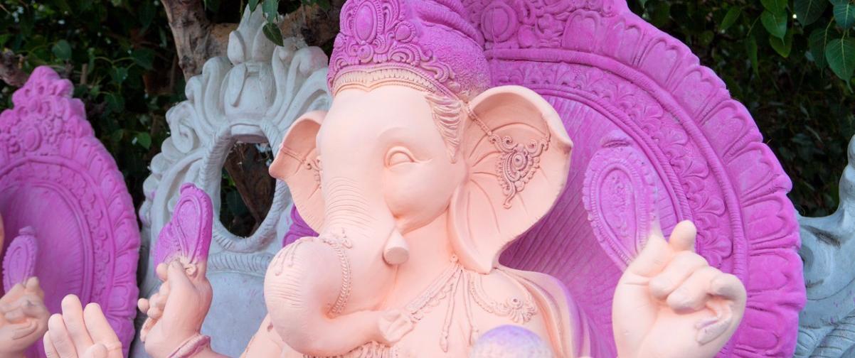 Guía Nueva Delhi, Ilustración Ganesha